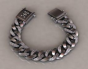 3D printable model chain bracelets 01 style