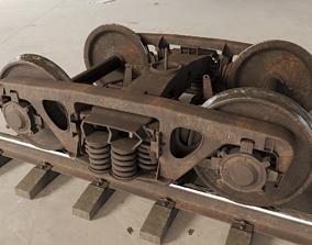 3D model Freight Bogie