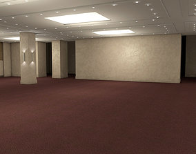 3D asset realtime Hotel Conference Hall