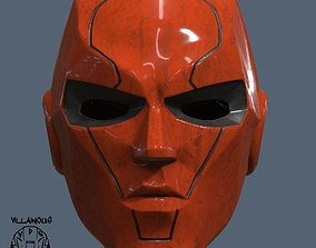 3D print model Red Hood New 52 Helmet