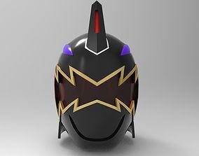 Black Ranger Helmet from Dino Thunder for 3D