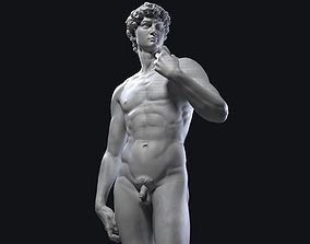 3D Printable David Statue by Michelandgelo museum