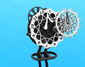 Unique Clock hobby 3D print model