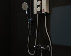 Shower Instant Heater 3D model