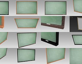 3D model Chalkboard collection