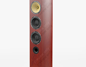 Bowers and Wilkins 804 D2 Rosenut 3D model