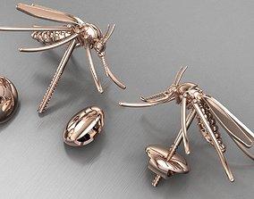 zancudo earrings 3D print model