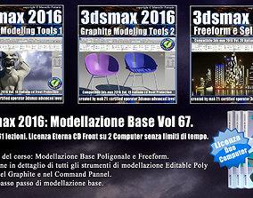 067 3ds max 2016 Modellazione Base Cd Front V 67