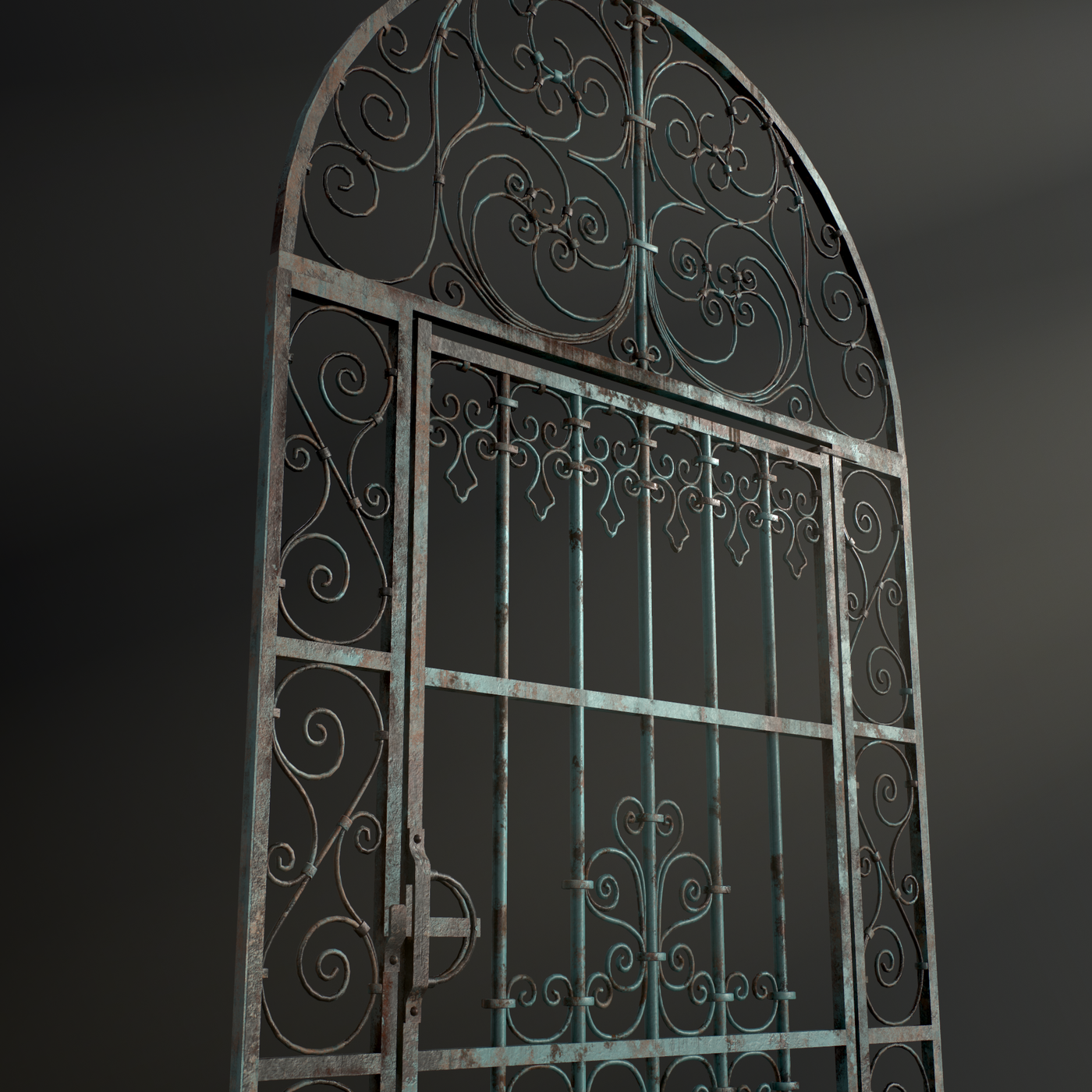 Forged single door