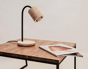 TABLE LAMP C-LIGHT 3D printable model