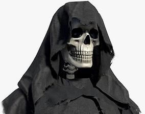 3D model Lowpoly Grim Reaper