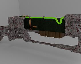 3D model Laser Rifle