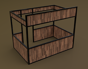 Stall stand 06 R 3D model