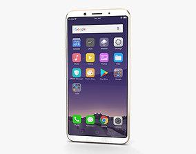 Oppo F5 Gold 3D model