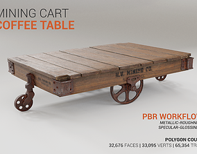 Mining Cart Coffee Table 3D