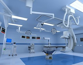 3D Hospital Hybrid Operating Room