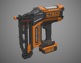 3D model Nail Gun Battery Powered