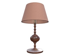 3D asset Table Lamp Game Ready