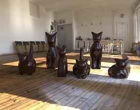 3D printable model Minimalist cats
