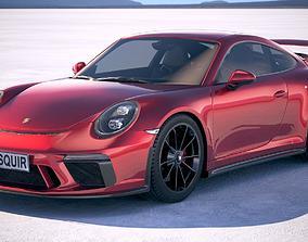 3D Porsche 911 GT3 2018