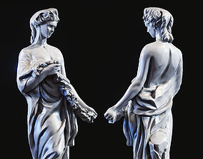 Woman sculpture 3d print model