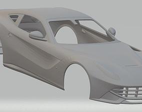 Ferrari F12 Berlinetta Printable Body Car