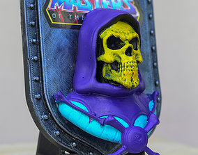 Escudo de Skeletor 3D print model
