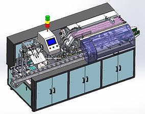 Automatic high-speed cartoning machine 3D