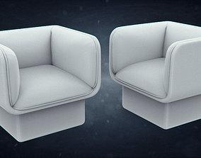 3D model Missana BLOCK Easy chair