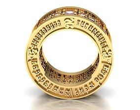 3D print model Ring of man