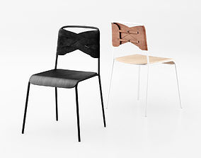 3D Torso chair and stool by Design House Stockholm