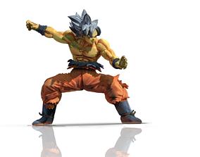 Goku Ultra Instinct Surfing Pose 3D print model