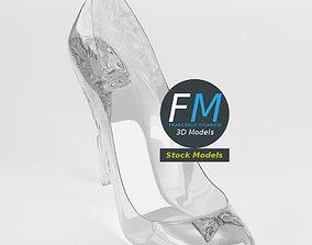 3D Cinderella shoe