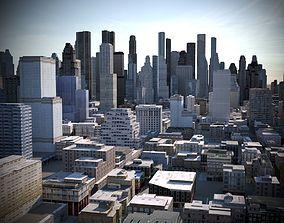 City 03 3D asset