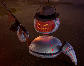3D model Assistant Droid - Gangster Glitch