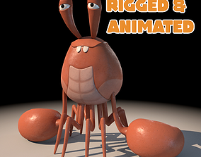 3D model Crab Stylized