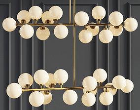 Suspension light The Mimosa Pendant 16 Plafonds 3D model 2