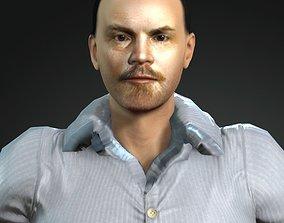 Vladimir Ilyich Lenin 3D model