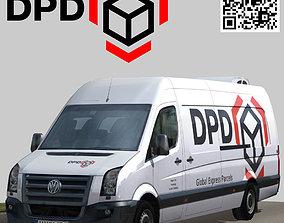 Volkswagen Crafter DPD 3D model