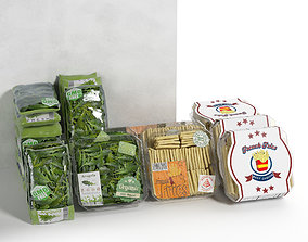 Packed Vegetables 2 3D