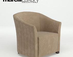 3D model Marelli Luxury - ALISON - Amrchair