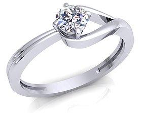 Ring 17 3D print model fashion-ring