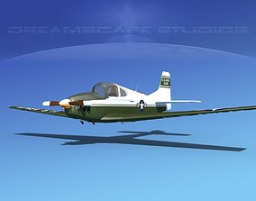3D model Johnston A-51A V07