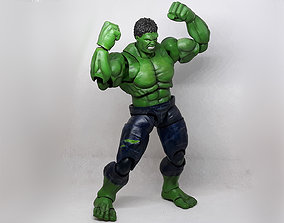 HULK articulated action figure 3D printable model