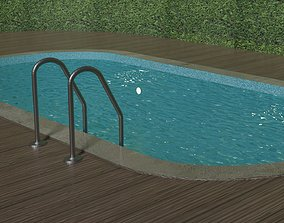 3D model Simple Swimming Pool