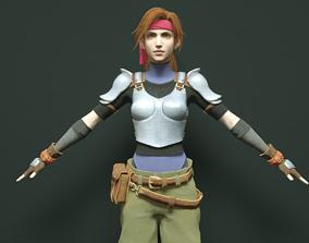 3D model Jessie - Final Fantasy 7 Remake