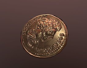 3D model Roman Coin