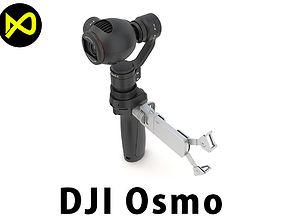 3D DJI Osmo Camera