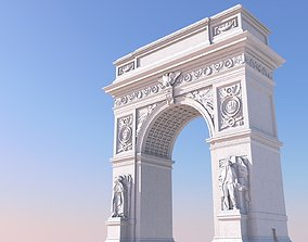 3D printable model Washington Square Arch