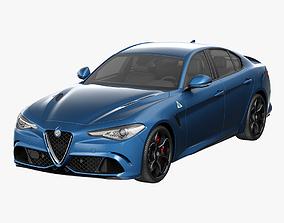 automotive 3D Alfa Romeo Giulia 2016